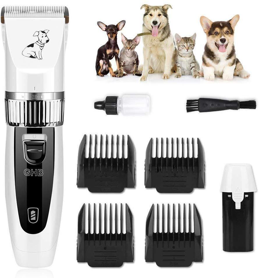 tondeuse chien GHB tondeuse chien chat professionnelle tondeuse animaux électrique sans fil